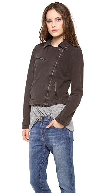 Current/Elliott The Easy Biker Jacket