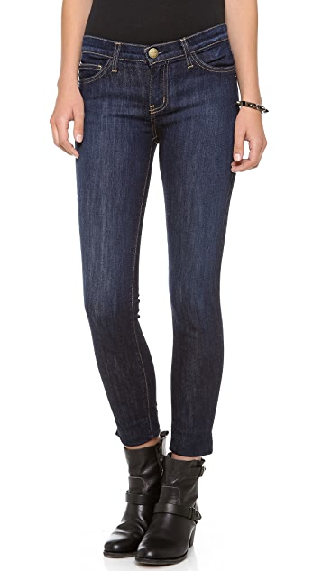 Current/Elliott The Side Slit Stiletto Jeans
