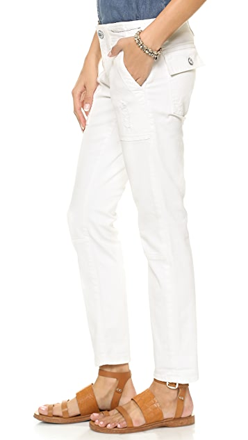 Current/Elliott The Seamed Buddy Trouser Jeans