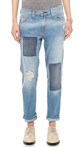 Current/Elliott The Patchwork Fling Jeans