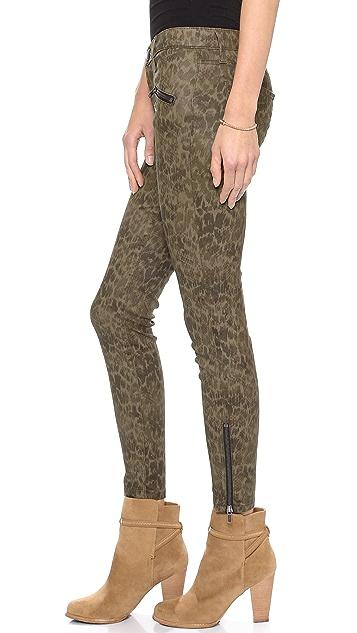 Current/Elliott The Soho Zip Stiletto Jeans