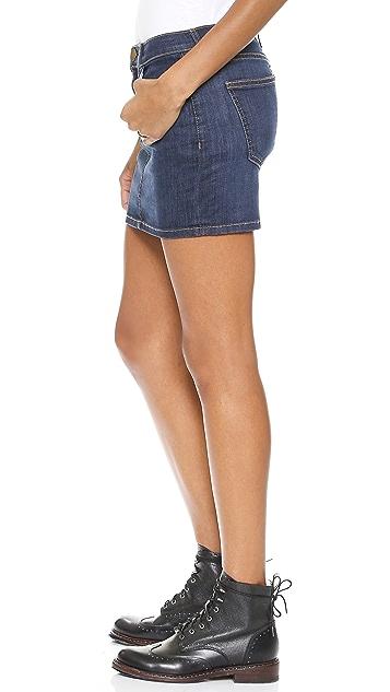 Current/Elliott The 5 Pocket Miniskirt