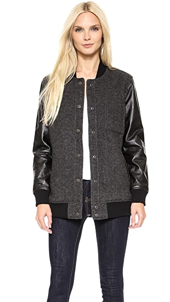 Current/Elliott The Stanwood Bomber Jacket