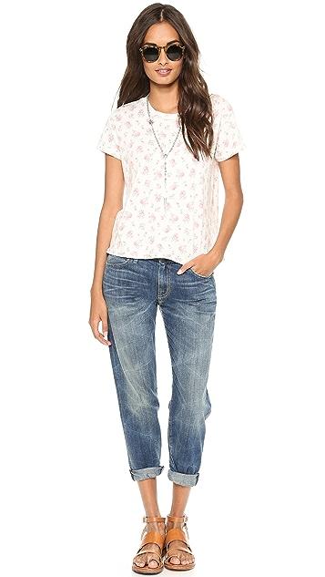 Current/Elliott The Boyfriend Jeans