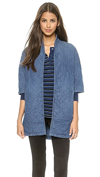 Current/Elliott Quilted Car Coat | SHOPBOP