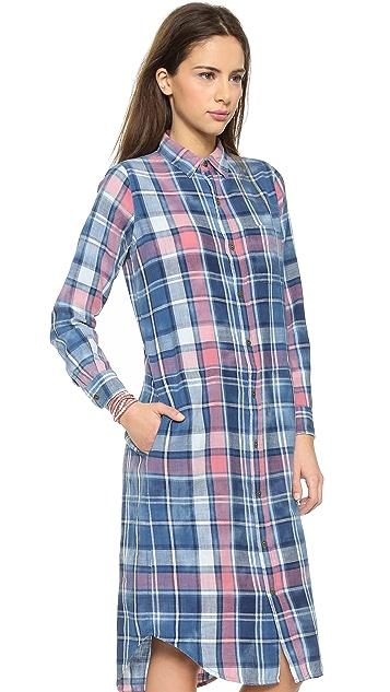 Current/Elliott Long Shirtdress