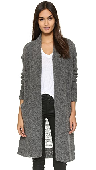 Current/Elliott The Long Slash Pocket Cardigan