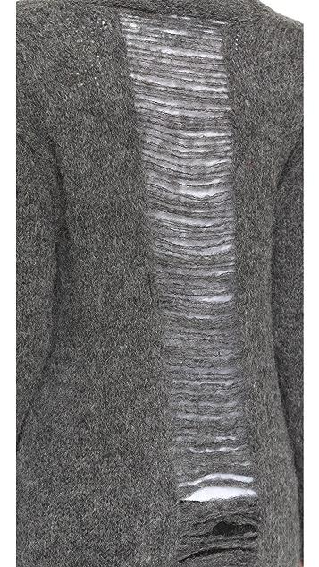 Current/Elliott The Long Slash Pocket Cardigan