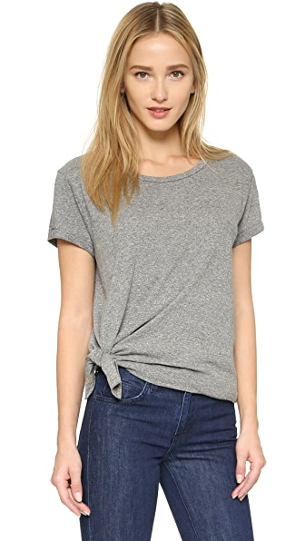 Current/Elliott One Size Wrap Tee
