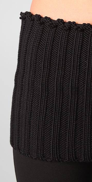 Cushnie Et Ochs Jersey Pants with Knit Waist