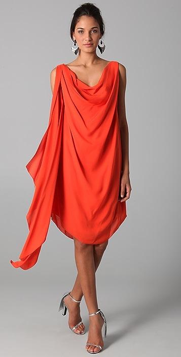 Cushnie Et Ochs Wrap Dress