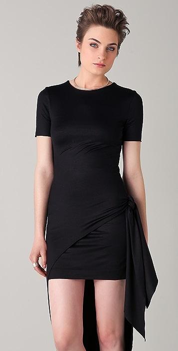 Cushnie Et Ochs Double Layer Wrap Dress