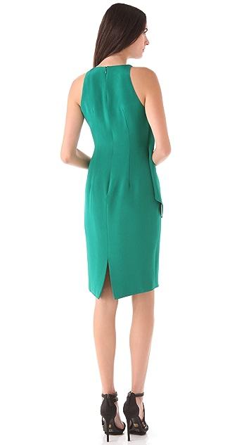 Cushnie Et Ochs Ruffle Sheath Dress