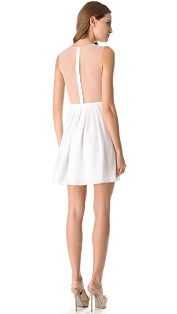 Cushnie Et Ochs Ruched Georgette Dress