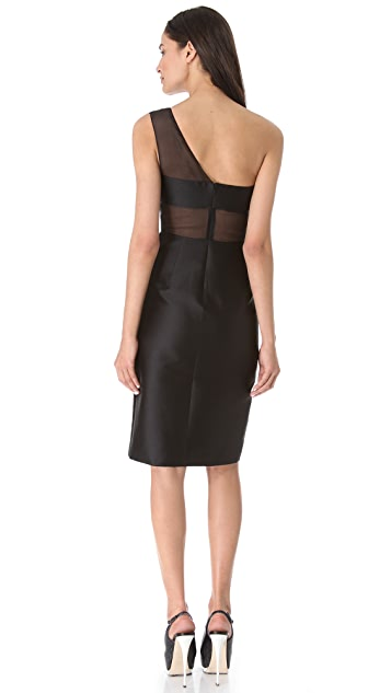 Cushnie Et Ochs One Shoulder Dress