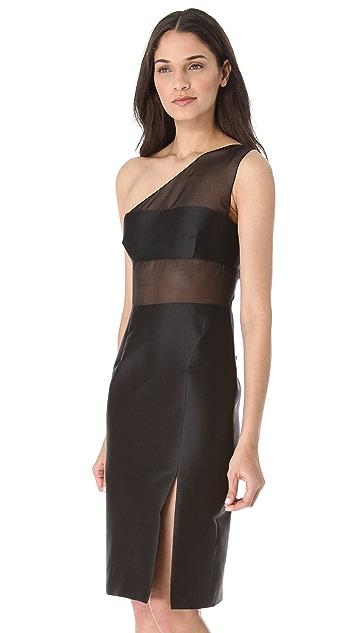 Cushnie Et Ochs One Shoulder Dress