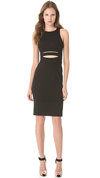 Cushnie Et Ochs Sleeveless Dress with Cutout