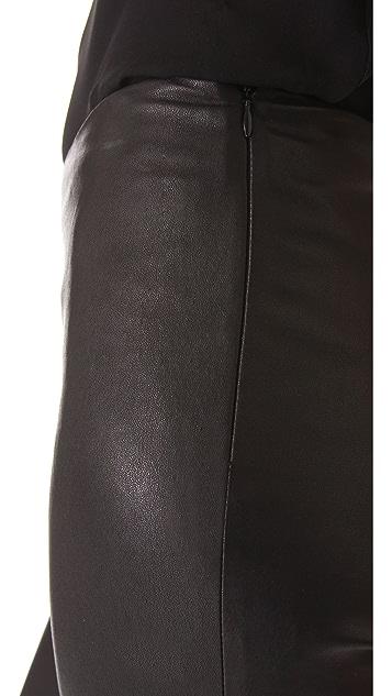 Cushnie Et Ochs Leather Leggings