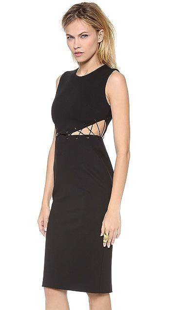 Cushnie Et Ochs Sleeveless Cutout Dress