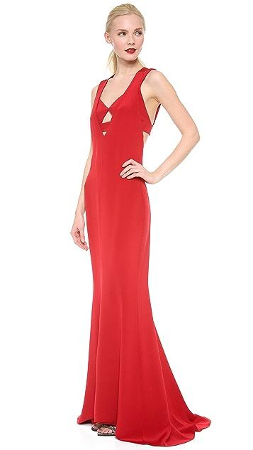 Cushnie Et Ochs Sleeveless Gown