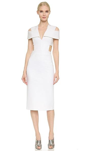 Cushnie Et Ochs Short Sleeve Dress