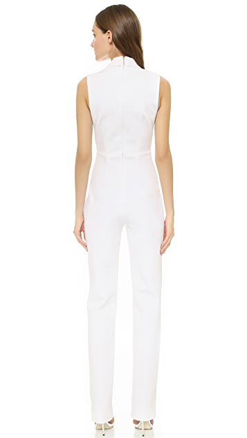 Cushnie Et Ochs Sleeveless Jumpsuit