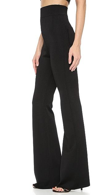 Cushnie Et Ochs Knit High Waisted Pants