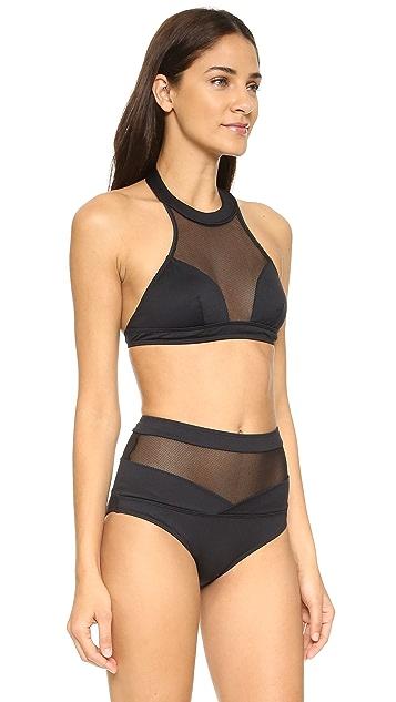 Cushnie Et Ochs Nylon Bikini