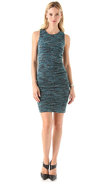 Cut25 by Yigal Azrouel Boucle Knit Dress