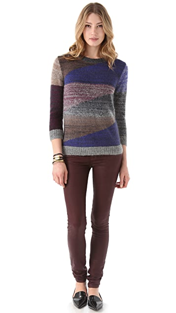 Cut25 by Yigal Azrouel Colorblock Pullover