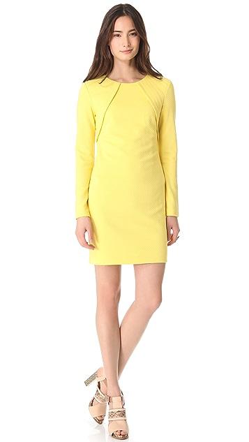 Cut25 by Yigal Azrouel Micro Checker Knit Dress