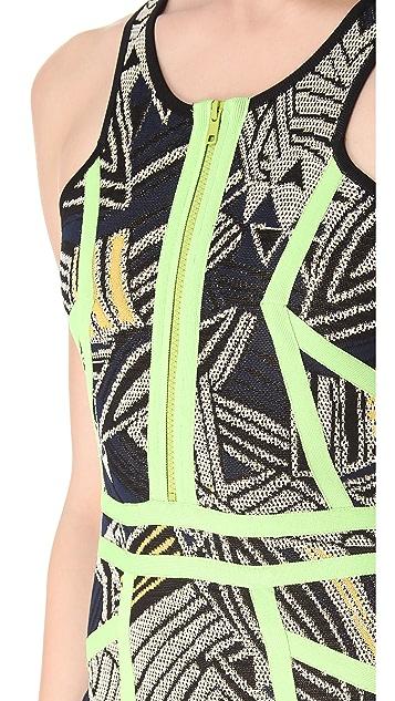 Cut25 by Yigal Azrouel Jam Techno Knit Dress