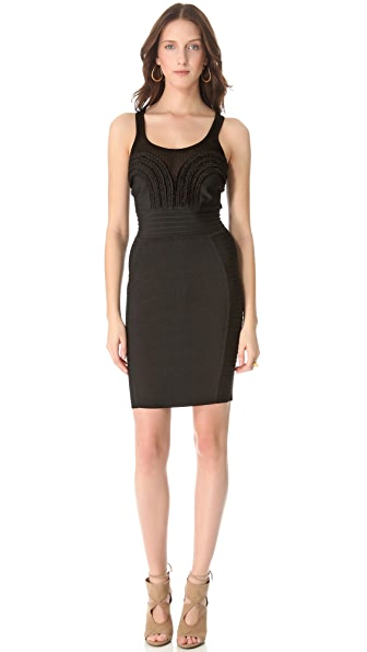 Cut25 by Yigal Azrouel Seamed Fitted Dress