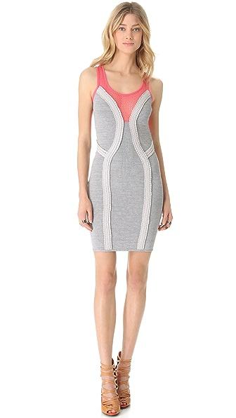 Cut25 by Yigal Azrouel Techno Knit Dress