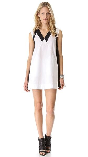 Cut25 by Yigal Azrouel Cotton Poplin Dress