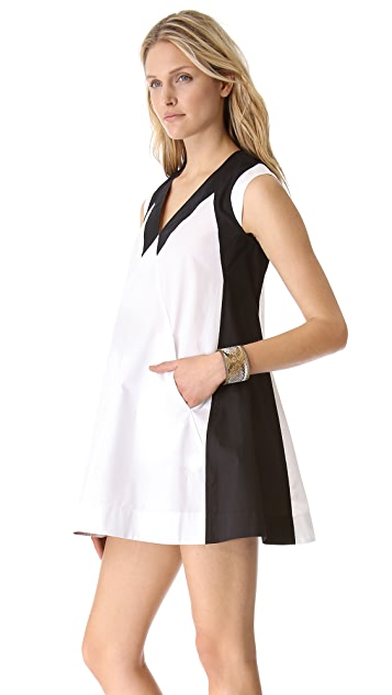 Cut25 by Yigal Azrouel Cotton Poplin Dress