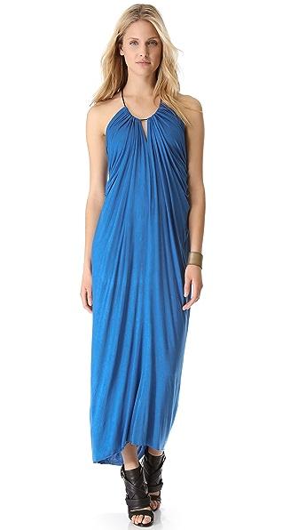 Cut25 by Yigal Azrouel Halter Maxi Dress