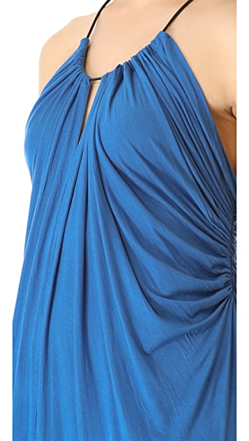 Cut25 by Yigal Azrouel Halter Maxi Dress