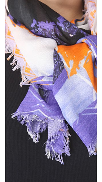 Cut25 by Yigal Azrouel Rickshaw Scarf