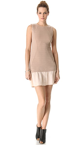 Cut25 by Yigal Azrouel Textured Ponte Dress