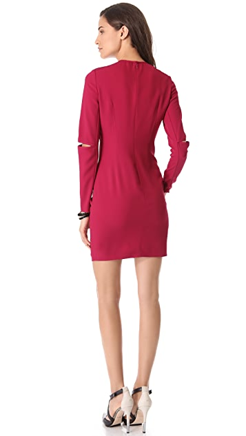 Cut25 by Yigal Azrouel Open Elbow Dress