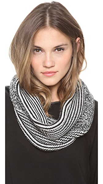 Cut25 by Yigal Azrouel Border Stich Knit Snood