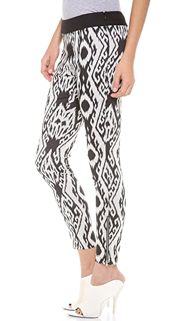 Cut25 by Yigal Azrouel Graphic Ikat Leggings