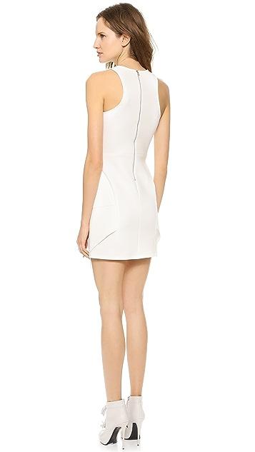 Cut25 by Yigal Azrouel Multi Layer Scuba Dress