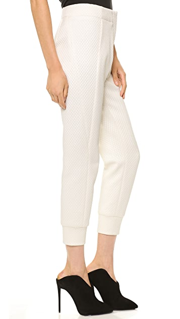 Cut25 by Yigal Azrouel Diamond Quilted Pants