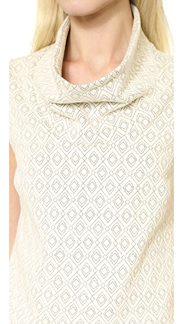 Cut25 by Yigal Azrouel Oversized Turtleneck Top