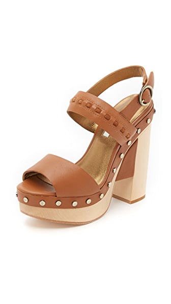 Cynthia Vincent Potent Clog Sandals - Mocha at Shopbop