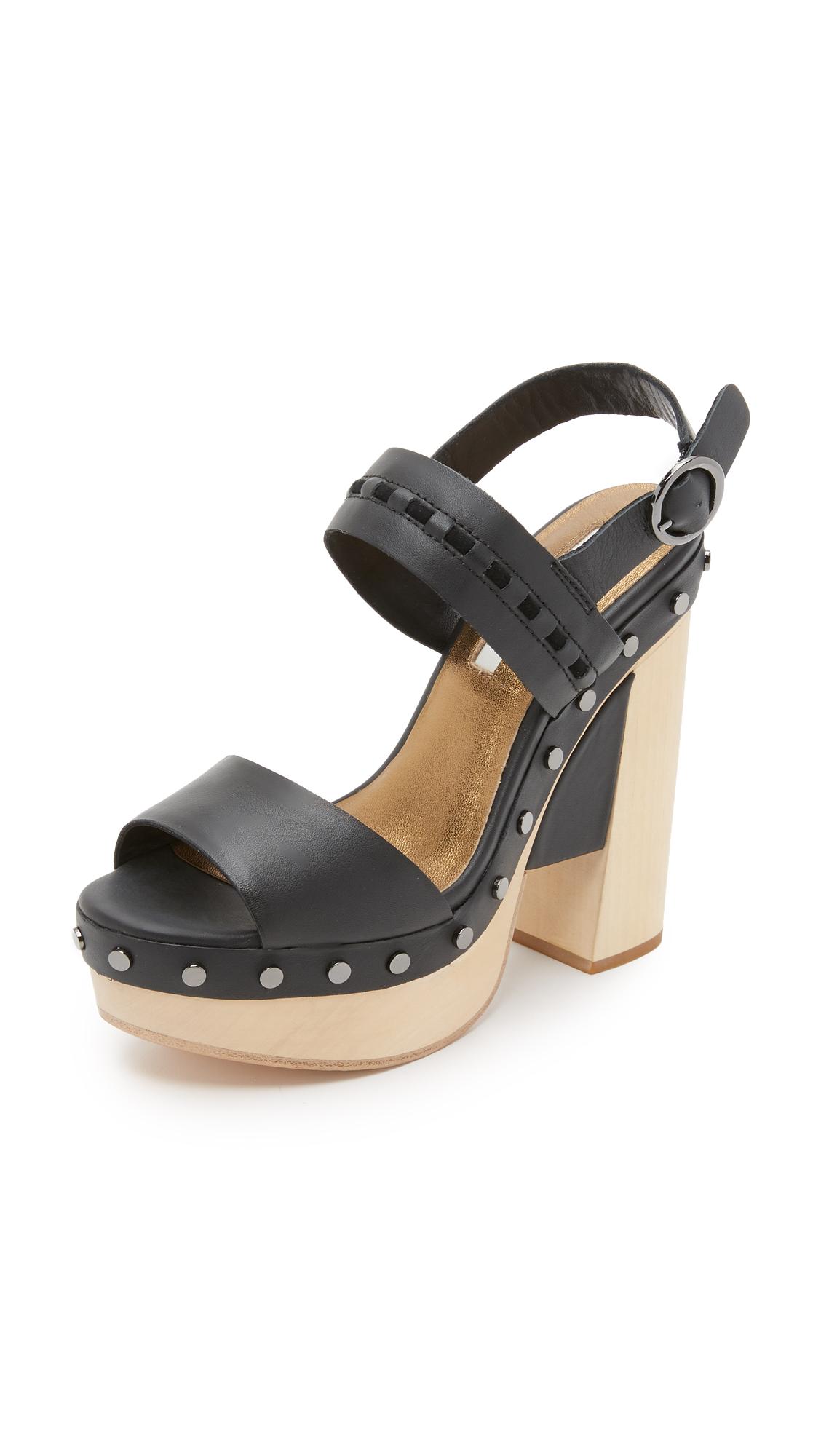 Cynthia Vincent Potent Clog Sandals - Black at Shopbop