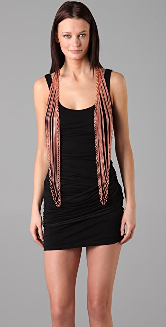 Cornelia Webb Draped Chain Vest