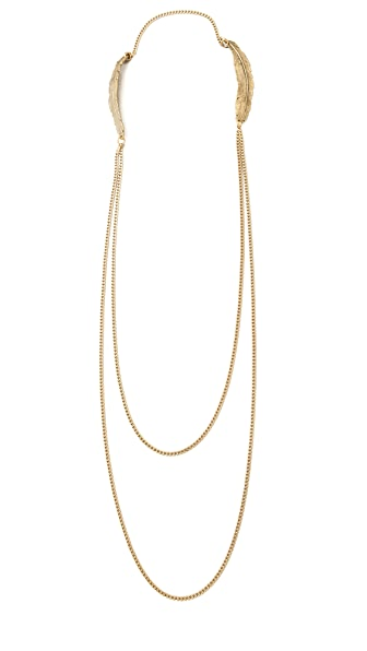 Cornelia Webb Feather Double Necklace